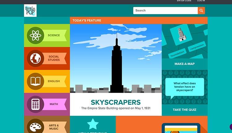 brainpop | The 10 Best Websites For Kids