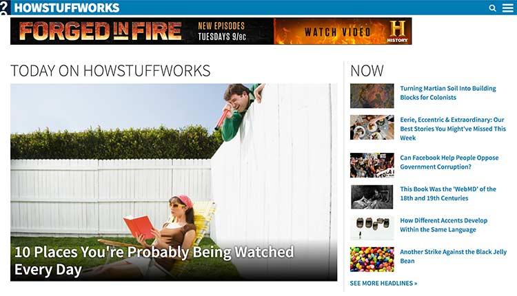 how-stuff-works | The 10 Best Websites For Kids