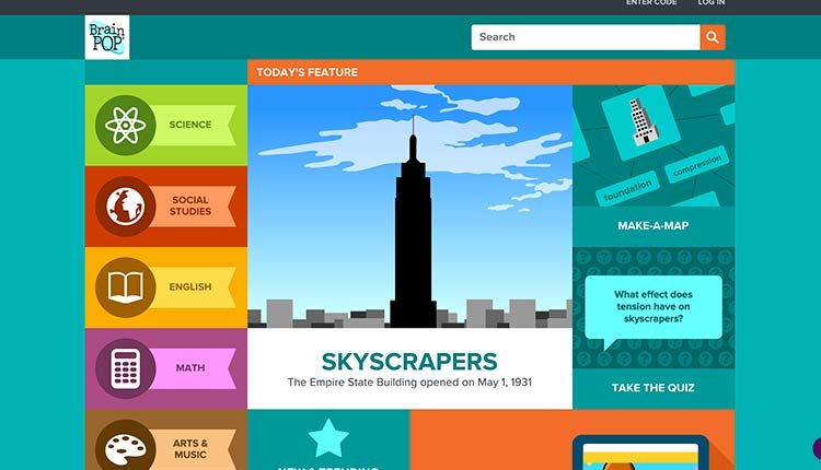 brainpop | The 10 Best Educational Websites For Kids