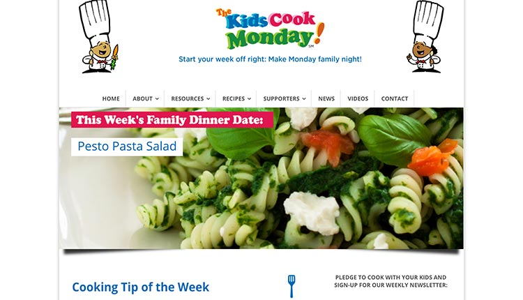 the-kids-cook-monday | The 10 Best Educational Websites For Kids