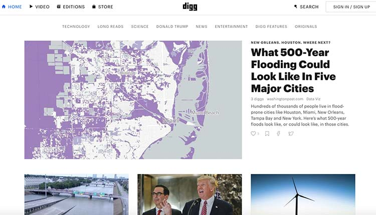 digg| 9 Resources Which Help Every Marketer To Find Ideas For Shareable Content